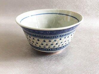 線模様の鉢の画像