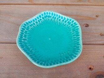 水色小皿の画像