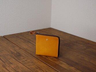 お花ステッチミニ財布の画像