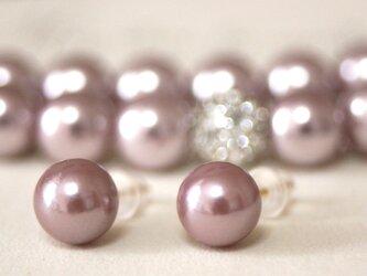 卒業式/入学式*2点セット 14kgfパールピアス  ネックレス ピンク 卒園式 入園式 ウエディング 結婚式 真珠 ブライダルの画像