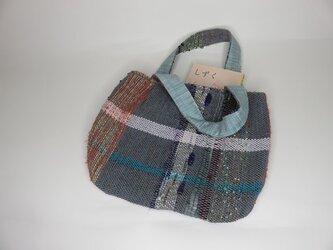 手織り・手提げバック A0509aの画像