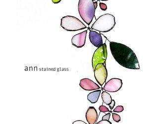 ステンドグラス 桜S190126の画像
