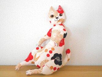 松竹梅の猫 3びきめの画像