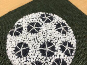 刺繍ブローチ  04の画像