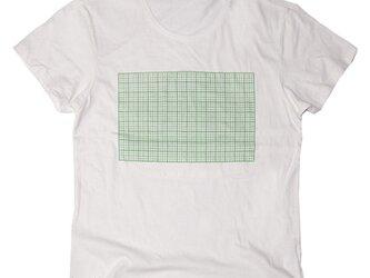 方眼紙おもしろTシャツ ユニセックスXS〜XLサイズ Tcollectorの画像