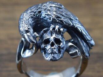 漆黒の鳥【リング】Nevermore:R64:Size15~25の画像