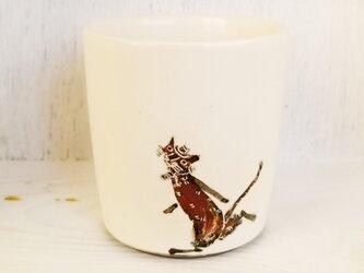 再販:追いかけっこ(ネコとネズミ)コップの画像