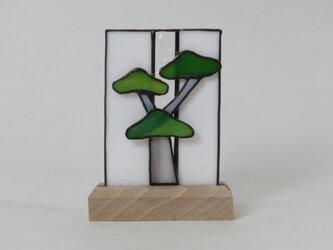 ステンドグラス ミニ門松の画像