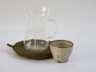 裂き編み マルチマットの画像