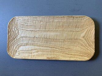 クリの木のプレートの画像