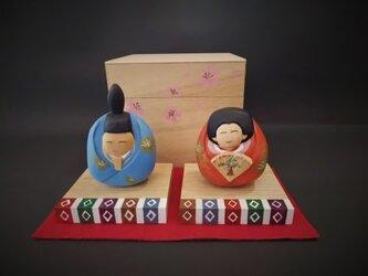 雛人形 【箱雛】の画像