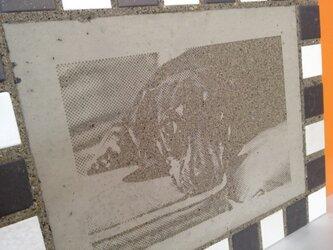 photocrete #ダックスフント・タイル枠の画像