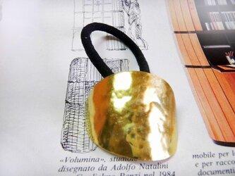 真鍮ヘアゴム5の画像