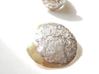 スーパームーン・まん丸お月様のブローチ[SILBER950]の画像