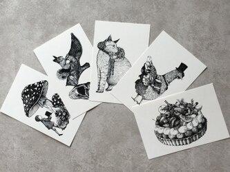 ポストカードセット(5枚組)の画像