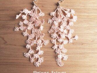 受注*Pierces,Flower strings_sakuraの画像