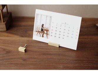 【送料無料】真鍮のカードスタンド 2個セット No17の画像