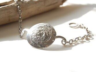 スーパームーン・まん丸満月のブレスレット[SILVER950]の画像