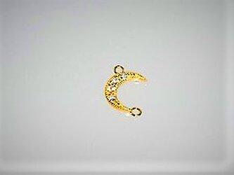 【アクセサリートップ】Moon丸環付き・ゴールドの画像