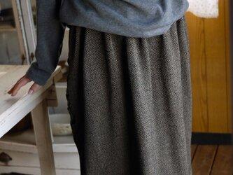 ニット系変わり織スカートの画像