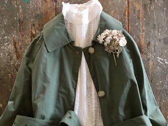 .....カプチーノとホワイトチョコレート.....suMire-bouquet布花コサージュの画像