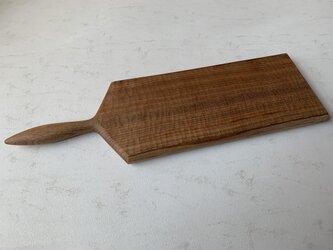 クルミの木のカッティングボードの画像