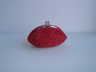 Beaded Purse --Berry Berry--の画像