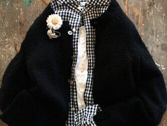 デージー三姉妹-長女-suMire-bouquet布花コサージュの画像