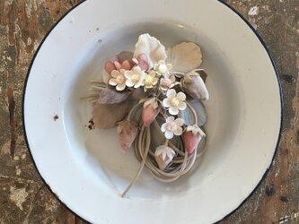 -いちご-。。。suMire-bouquet布花コサージュ。の画像