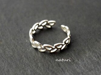 【feuille】sv925 leaf ring Ⅱの画像