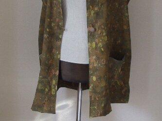 処分品 道行(半コート)新反からベストチュニック 絹の画像