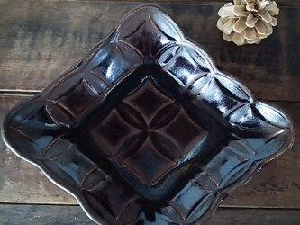 綾series/綾果深皿(chocolate)の画像