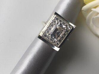 クォーツ(国産本水晶)のSVリングの画像