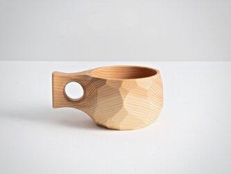 ククサ(木のマグカップ)の画像