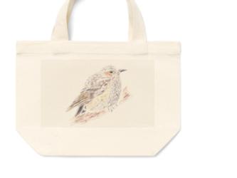 ヒヨドリのミニトートバッグ  の画像