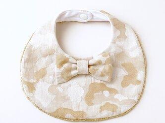 蝶ネクタイのベージュ迷彩JQスタイの画像
