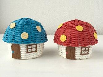 【受注製作】きのこハウスのキャンディボックスの画像