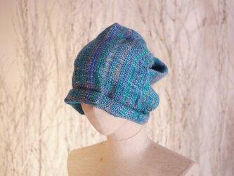 手織り ふにふに帽子 秋冬の画像