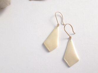 k10✼Makkoh pierced earrings 92020の画像