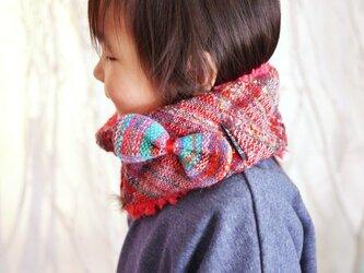 ◆SALE◆手織り キッズもこもこファースヌードの画像