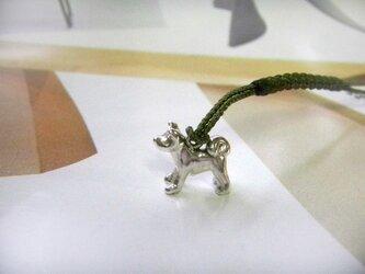 根付 秋田犬の画像