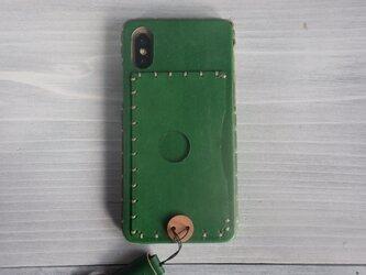 iPhone XS/X (カードポケット)【受注製作】の画像