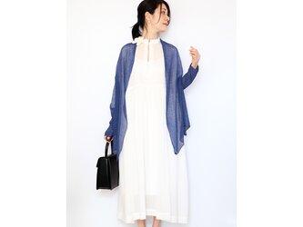 ◆即納◆Rigel[リゲル] 袖付きストール / ナイト・ブルーの画像