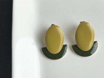 DAEN  mustard×moss greenの画像