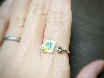 春待ち指輪の画像
