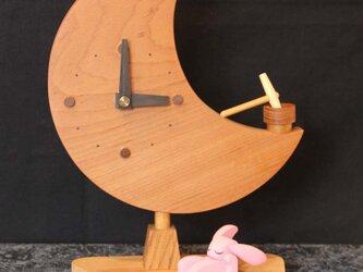 いねむりウサギシリーズ【時計】の画像
