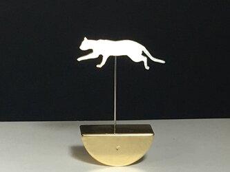 Cat-14 Mini Swing Paperweight ネコ スウィング ペーパーウエイトの画像
