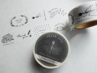 Masking tape【7pattern /thank you】の画像