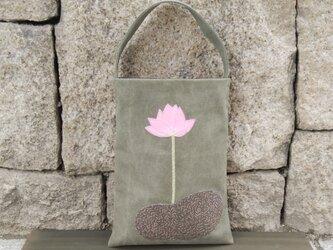 再販 *.  蓮のワンハンドルバッグの画像