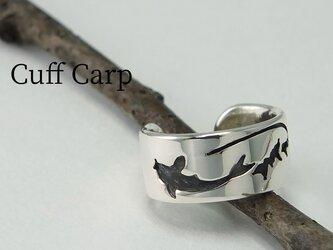 Cuff-Life Carp - 秋口の鯉のイヤーカフ 幅6mmの画像